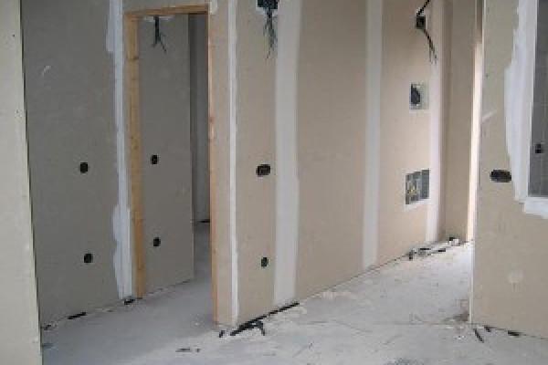 Pregradni zid sa montažom vrata
