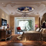 Plaster-ceilings-for-new-classical-bedroom